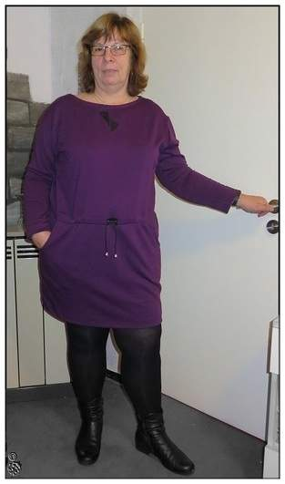 Sweat-Kleid