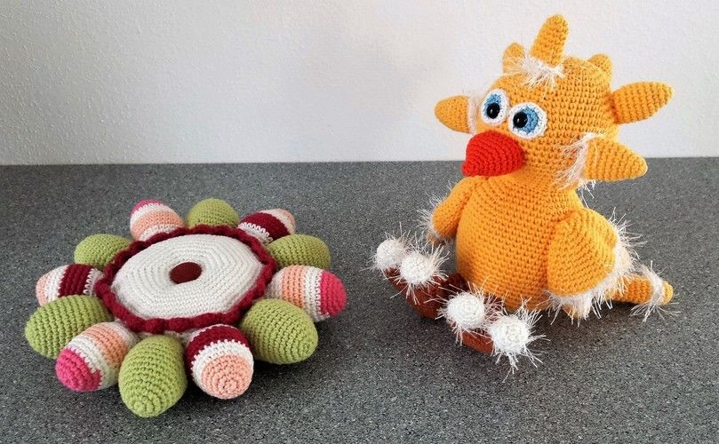 Makerist - Dotti das süße Osterhuhn - Häkelprojekte - 2