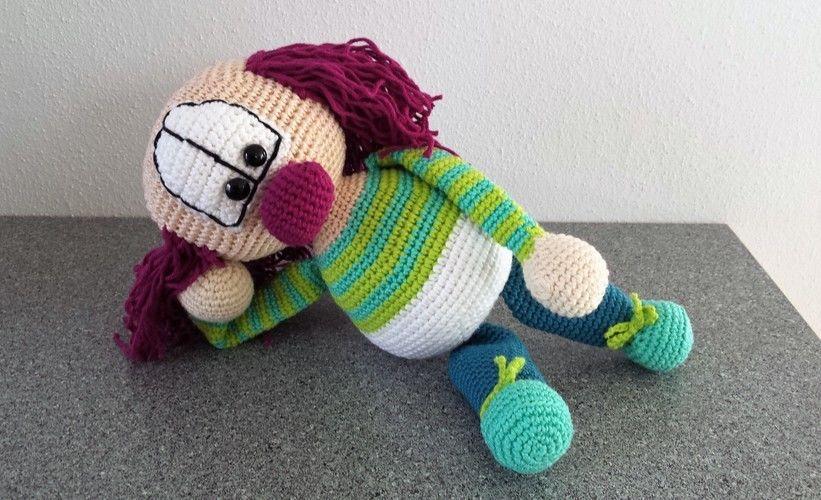 Makerist - Hopsa Clown - Häkelprojekte - 1