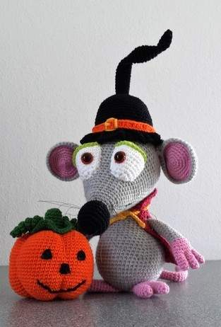 Makerist - Halloween-Maus - 1