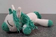 Makerist - schlafendes Einhorn - 1