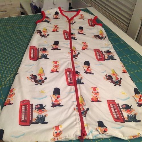 Makerist - Schlafsack für mein Enkelkind - Nähprojekte - 1