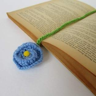 Makerist - Flower Bookmark - 1