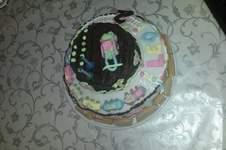 Makerist - Torte zum 2. Geburtstag  - 1