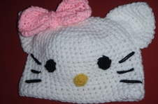 Makerist - Hello Kitty Mütze für meine Tochter - 1