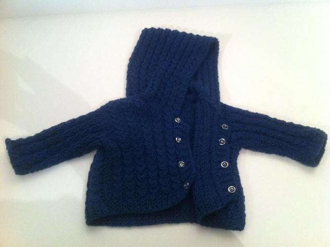 Makerist - Jacke für den Style-Fratz - Strickprojekte - 2