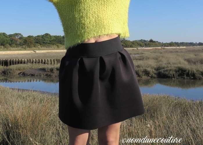 Makerist - Faire une jupe en néoprène à pli plat - Créations de couture - 1