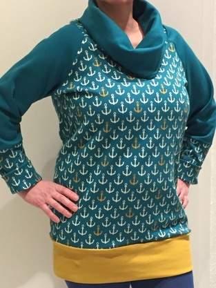 Mein erster Pullover - für mich