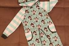 Makerist - Cozy-Dress aus Winterkitz Sweat in 122/128 - 1