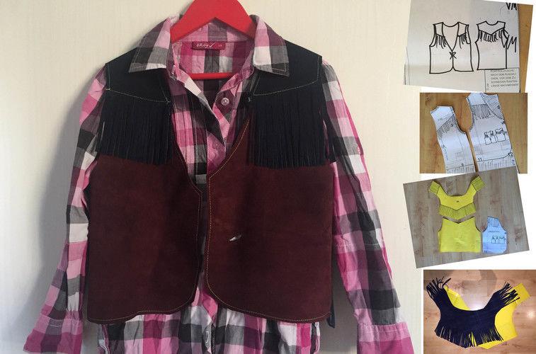 Makerist - aus einem Shirt-Schnitt eine Weste machen - Nähprojekte - 1