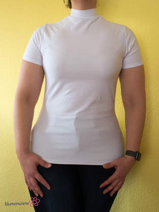 Makerist - sehr figurbetontes Shirt als Drunterzieh-Shirt - 1