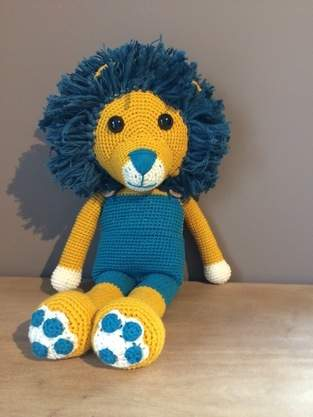 Makerist - Doudou lion crochet  - 1