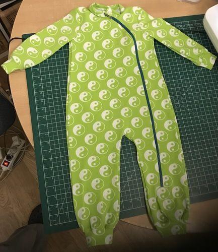 Makerist - Romper abgewandelt zum Schlafanzug - Nähprojekte - 1