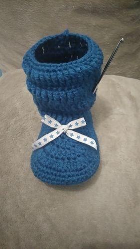 Makerist - Chaussons pour petite fille  - Créations de crochet - 1