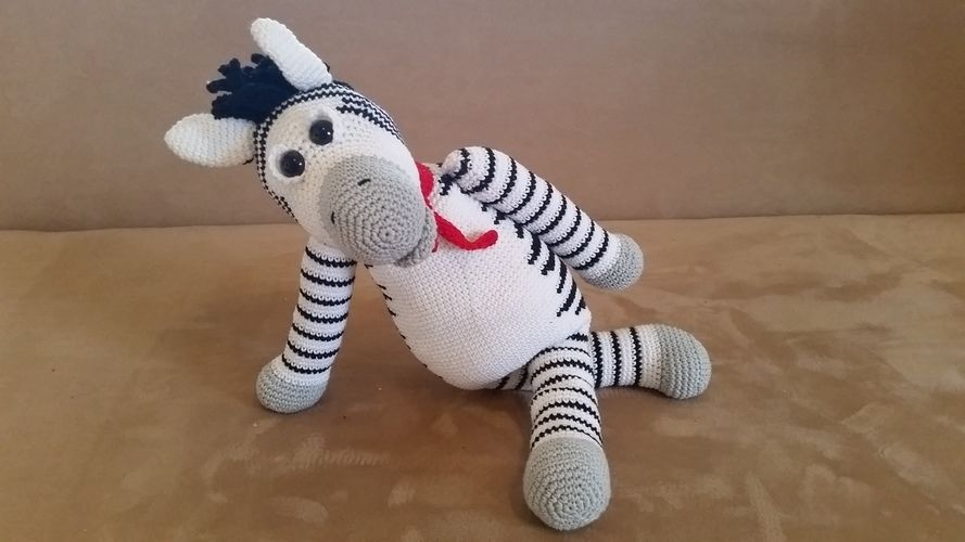 Makerist - Zacharias Zebra - Häkelprojekte - 1