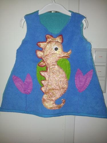Makerist - ♥Seepferdchen Kostüm für die ganz Kleinen♥ - Nähprojekte - 1