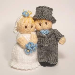 Makerist - Bride and Groom Bitsy Babies - 1