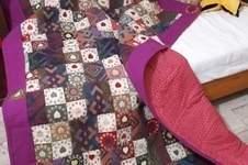 Makerist - Tagesdecke Upcycling     aus alter Lamahaar-Decke und Gobelinstoff  - 1