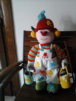 Makerist - Le clown peintre - 1