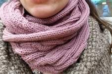 Makerist - Un snood torsadé - 1