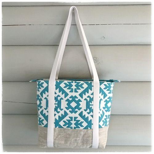 Makerist - Der Sommer kann kommen - meine erste Svea Handtasche - Nähprojekte - 2