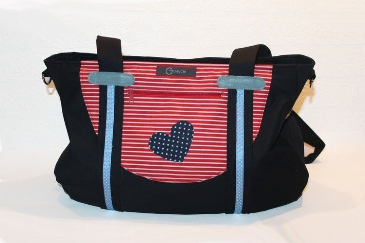 Makerist - Maritime Handtasche - Nähprojekte - 1
