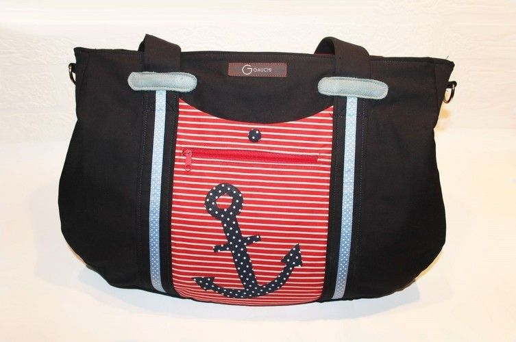 Makerist - Maritime Handtasche - Nähprojekte - 2