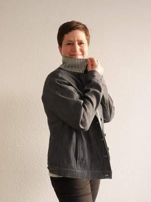Doubleface Jeansstoff trifft auf Jeansjacke