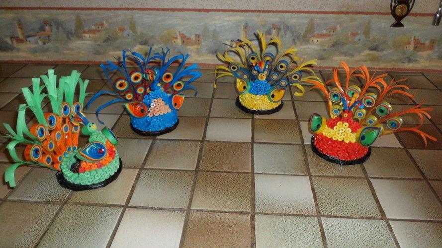 Makerist - Vannerie Paon en Quillinge - Autres créations - 3