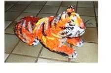 Makerist - Vannerie Tigre en Quilling - 1