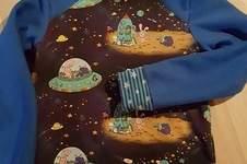 Makerist - Weltall Pullover mit Sternenbündchen - 1