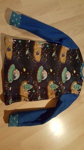 Makerist - Weltall Pullover mit Sternenbündchen - Nähprojekte - 2