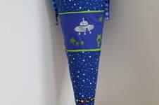 Makerist - Weltall Schultüte mit Raketen - 1