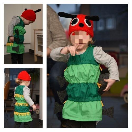 "Makerist - Kostüm ""Kleine Raupe Nimmersatt"" - Nähprojekte - 1"