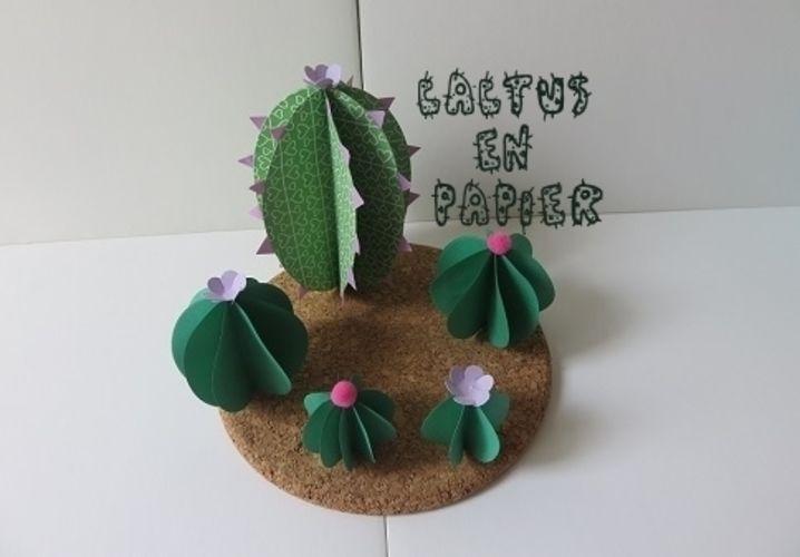 Makerist - Cactus en papier - Autres créations - 1