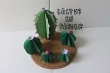 Makerist - Cactus en papier - 1