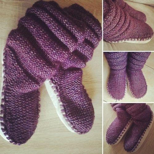 Makerist - Tricot Chaussons-chaussettes Femme - Créations de tricot - 1
