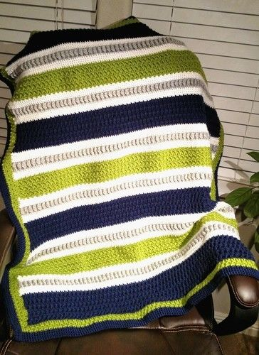 Makerist - Stich Play Baby Blanket - Crochet Showcase - 1