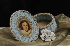 Makerist - Vintage Korb aus Zeitungspapier - 1