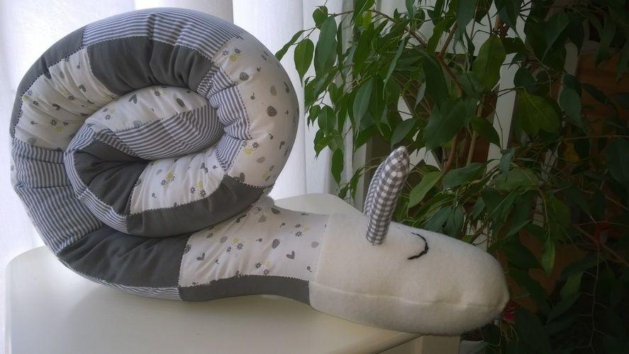 Makerist - Puck Schnecke / Lagerungsschnecke für Babys - Nähprojekte - 1
