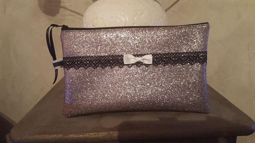 Makerist - grande pochette en faux cuir brillant doublé en cotonnade  - Créations de couture - 1