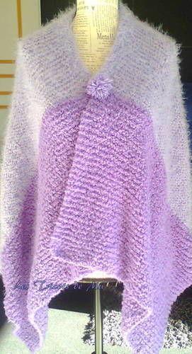 Makerist - Poncho mixed - Créations de tricot - 1