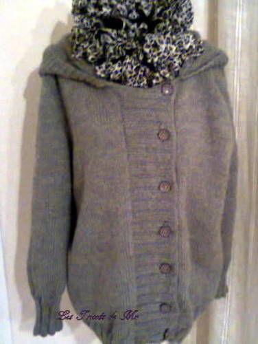 Makerist - Veste à capuche....une première pour moi - Créations de tricot - 1
