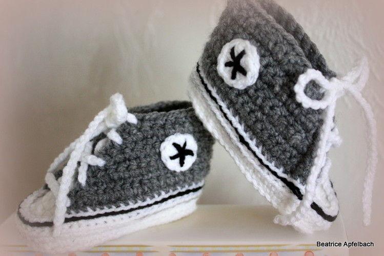 Makerist - .... Babyschuhe.... mal ganz neutral  - Häkelprojekte - 1