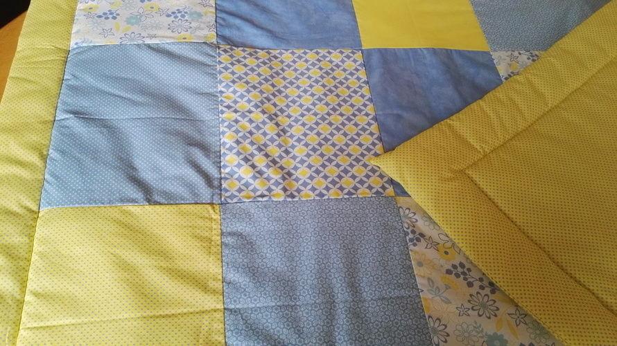 Makerist - Babydecken Variation - Patchwork-Projekte - 1