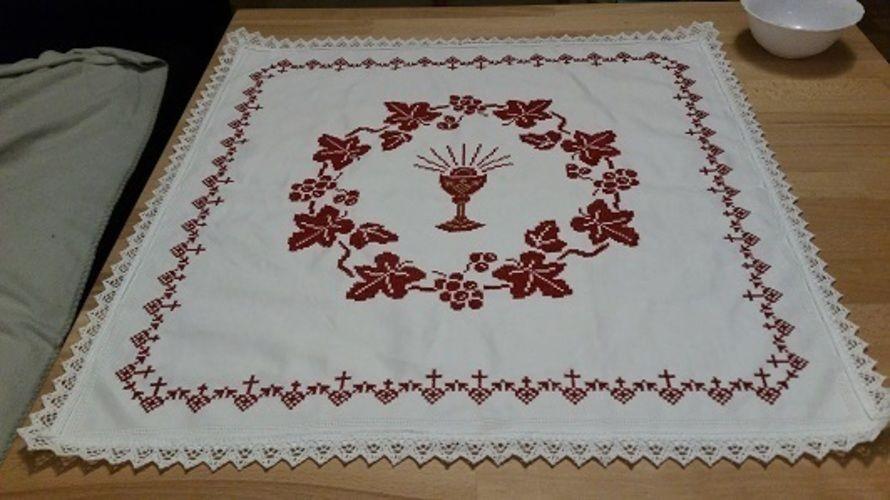 Makerist - Osterdecke gestickt - Textilgestaltung - 2