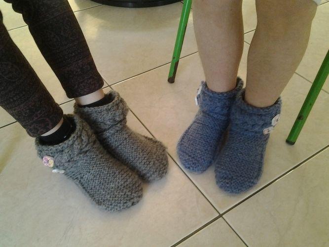 Makerist - chaussons enfants - Créations de tricot - 1