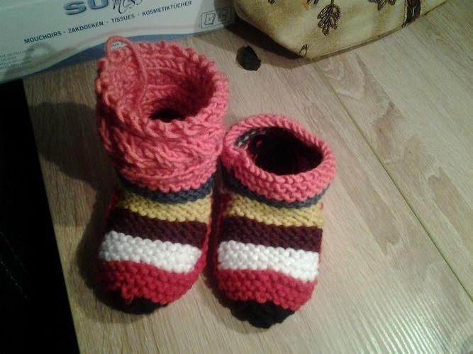 Makerist - chaussons enfants - Créations de tricot - 2