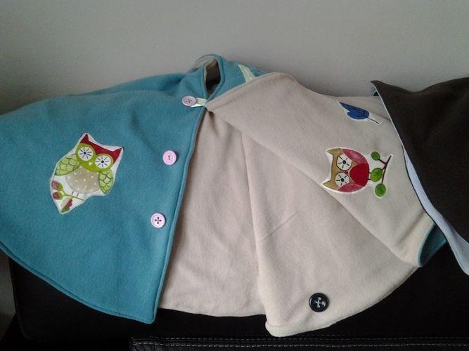 Makerist - capes d'hiver fillettes - Créations de couture - 2