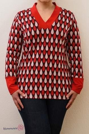 Makerist - Shirt mit V-Ausschnit von Lillesol - 1